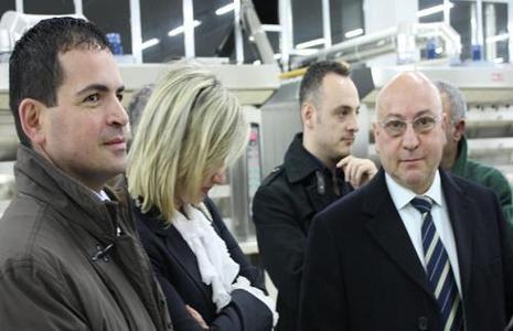 Nella foto Scialdone, Pontillo e Parente
