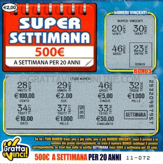 super_settimana_500€_seconda_serie