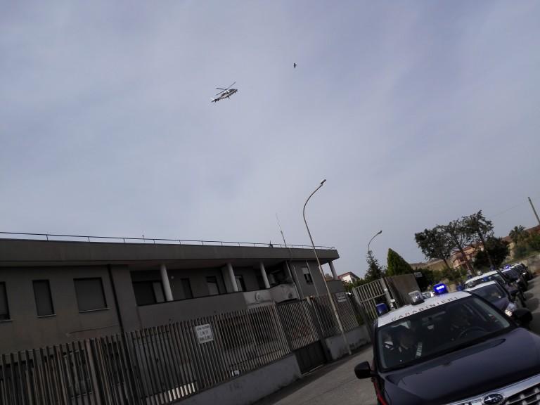 stazione carabinieri elicottero
