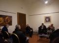 presentazione ufiiciale in presenza dell'artista Vittorio Miranda, il direttore artistico Cardone ed il comune di ercolano Dott.ssa Saulino