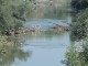 GRAZZANISE I resti di un vecchio ponte negletti nell'alveo del Volturno 030817