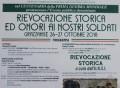 Grazzanise - RIEVOCAZIONE STORICA ED ONORI AI NOSTRI SOLDATI locandina