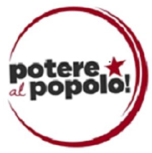 potere al popolo caserta logo
