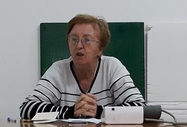 GRAZZANISE Giovanna Cardaropoli, già caposala ospedaliera, durante la conversazione del 16 novembre 2018