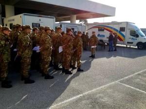 3 - Volontari in attesa di effettuare la donazione di sangue