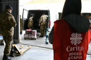 3. Consegna delle derrate alla Caritas di Capua
