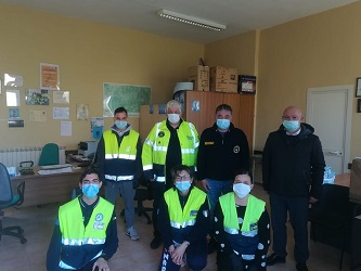 protezione civile fossa covid19