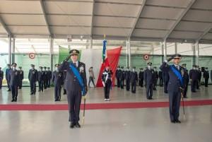 I Comandanti uscente e subentrante in un momento della cerimonia. (2)