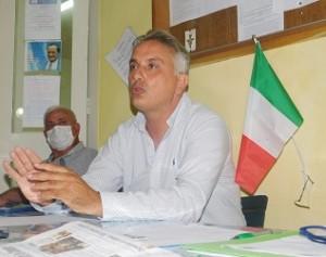 Il sindaco Petrella e il vicepresidente Petrella durante l'assemblea del CPAP di mercoledì 150921